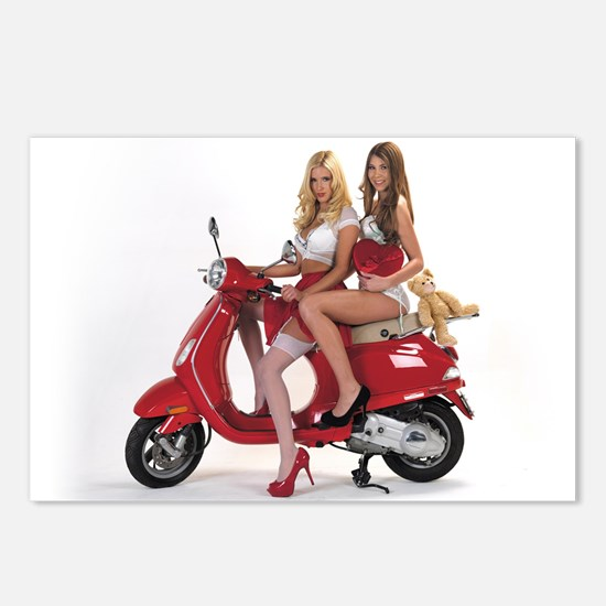Fastdates.com Scooter Postcards (package Of 8)