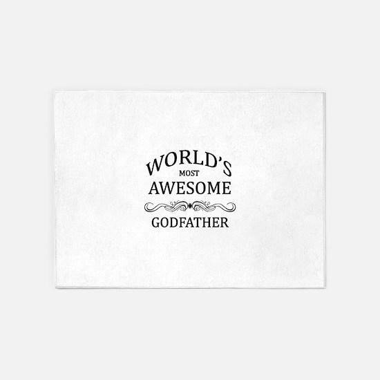 Godfather 5'x7'Area Rug