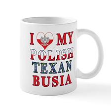 Polish Texan Busia Mugs