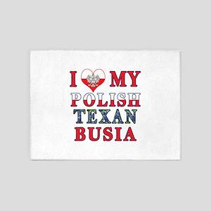 Polish Texan Busia 5'x7'Area Rug