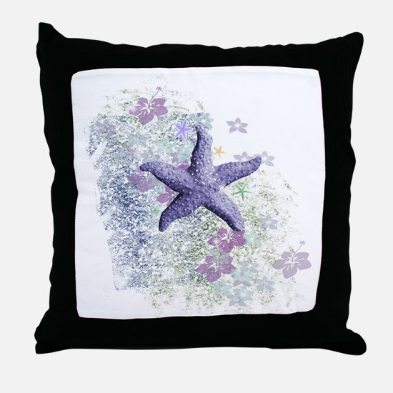 Cute Sea life Throw Pillow