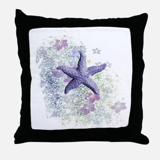 Cute Purple Throw Pillow