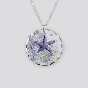 Passion Starfish Necklace Circle Charm