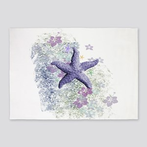 Passion Starfish 5'x7'Area Rug