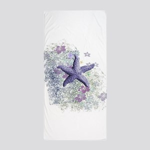 Passion Starfish Beach Towel