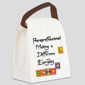 Paraprofessional Canvas Lunch Bag