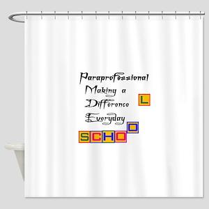 Paraprofessional Shower Curtain