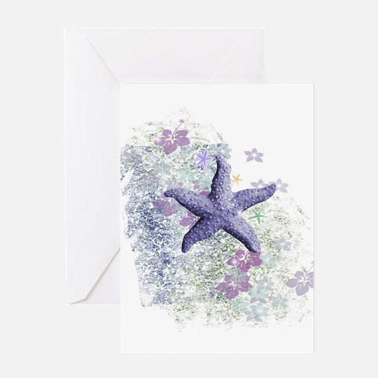 Passion Starfish Greeting Cards