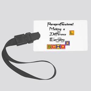 Paraprofessional Large Luggage Tag