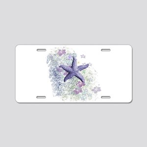 Passion Starfish Aluminum License Plate