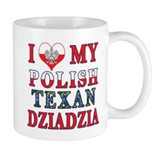 Polish Texan Dziadzia Mug