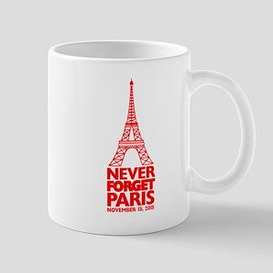 Never Forget Paris Mugs