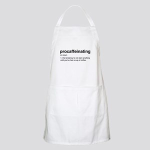 Procaffeinating definition Light Apron