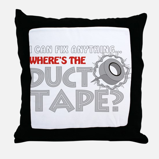 Duct Tape Throw Pillow