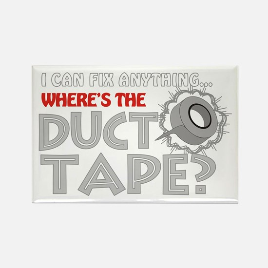 Duct Tape Rectangle Magnet