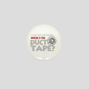 Duct Tape Mini Button