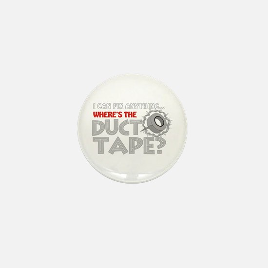 Duct Tape Mini Button