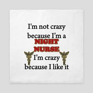 Night Nurse Queen Duvet
