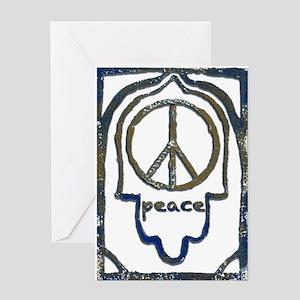 Hamsa Peace Greeting Cards