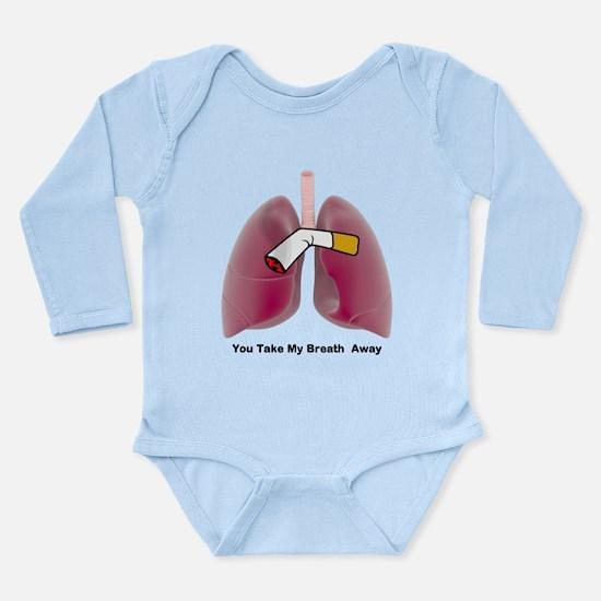 You Take My Breath Awa Long Sleeve Infant Bodysuit