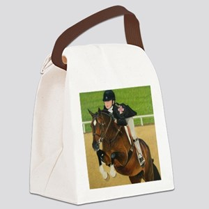 Pony Horse Jumper Canvas Lunch Bag