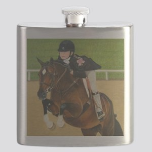 Pony Horse Jumper Flask