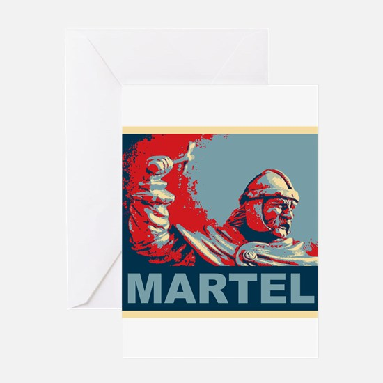 Martel (Hope colors) Greeting Cards