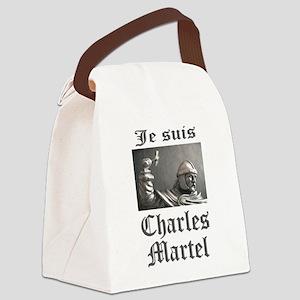 Je Suis Charles Martel (picture) Canvas Lunch Bag