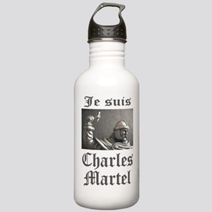 Je Suis Charles Martel (picture) Water Bottle