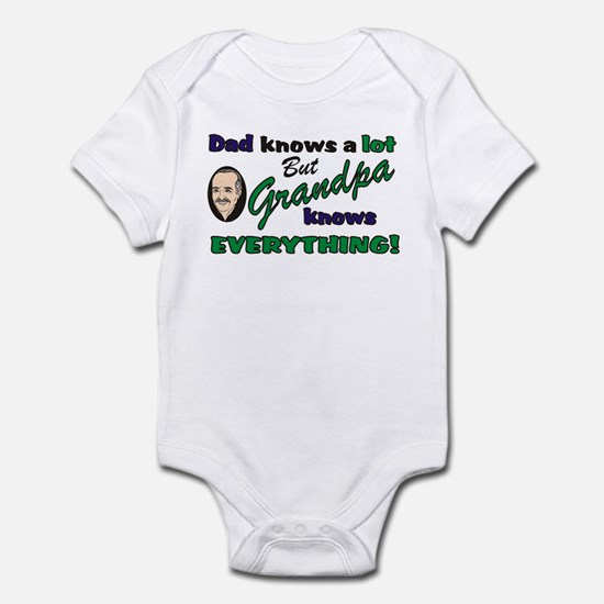 Grandpa Knows Everything Infant Creeper