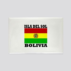 Isla del Sol, Bolivia Rectangle Magnet