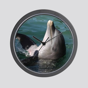 Dolphin20151015 Wall Clock