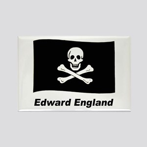 Pirate Flag - Edward England Rectangle Magnet