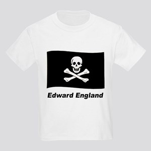 Pirate Flag - Edward England (Front) Kids Light T-