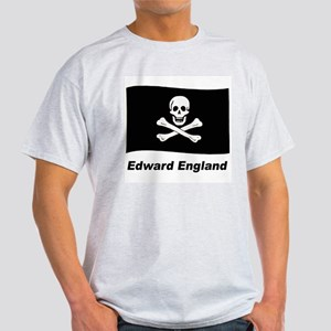 Pirate Flag - Edward England (Front) Light T-Shirt