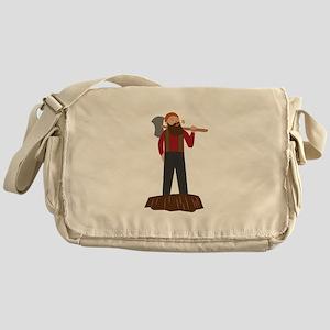Logger Messenger Bag