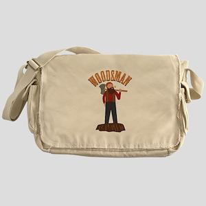 Woodsman Messenger Bag