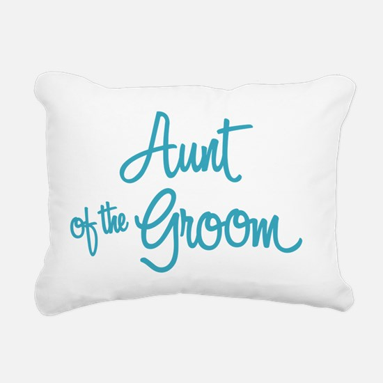 Aunt of the Groom Rectangular Canvas Pillow