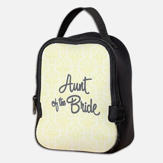 Aunt of the Bride Neoprene Lunch Bag