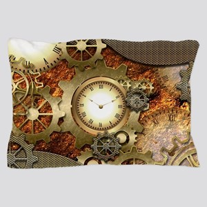 Steampunk, awesome steampunk design Pillow Case