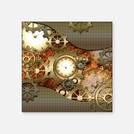 Steampunk, awesome steampunk design Sticker