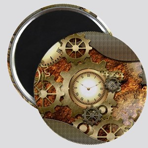 Steampunk, awesome steampunk design Magnets