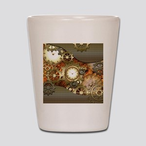 Steampunk, awesome steampunk design Shot Glass