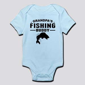 Grandpas Fishing Buddy Body Suit