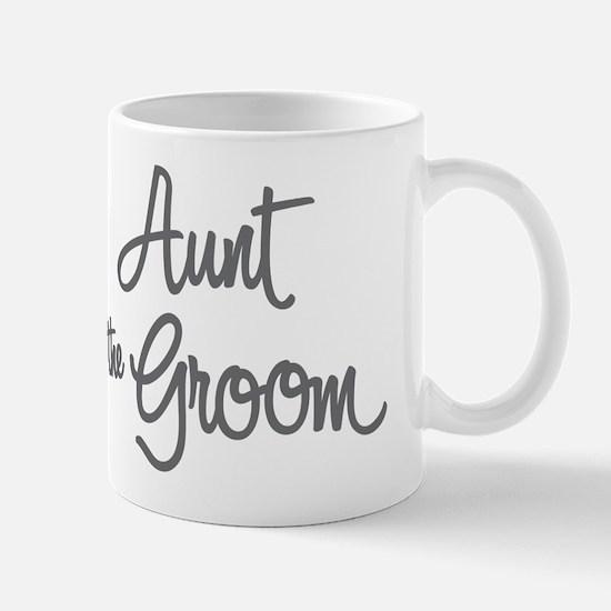 Aunt of the Groom Mugs