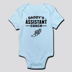 Daddys Assistant Track Coach Body Suit