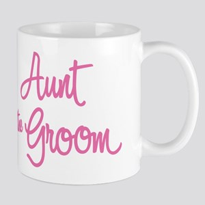 Aunt of the Groom Mugs