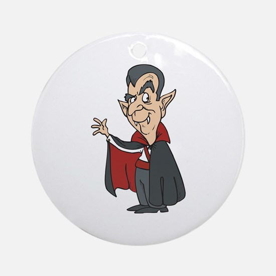 Dracula Ornament (Round)