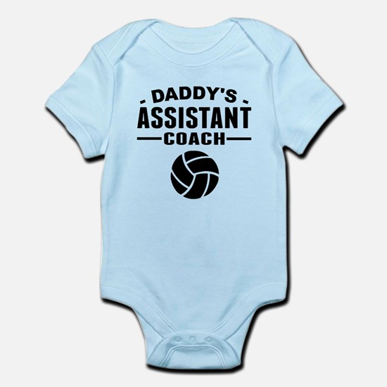Daddys Assistant Volleyball Coach Body Suit