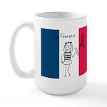 En Francais Large Mug